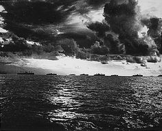 The Battle of Leyte Gulf was one of the largest naval battles in history. It was fought in the Pacific during World War II in the seas surrounding the Philippine island of Leyte from October 24-25,1944 between the Allies and Japan. It was an attempt by the Japanese to repel or destroy the Allied forces stationed on Leyte after the preceding Allied invasion in the Battle of Leyte. Instead, the Allied navies inflicted a major defeat on the outnumbered Japanese.
