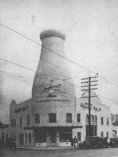 Steigerwald Dairy on 37th and Sandy Blvd - Portland, Oregon - - Later on I was taking Ballet lessons on the second floor!