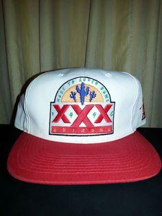 d500a8463 VTG 1996 Super Bowl 30 Sports Specialties Snapback Hat Cap Starter NFL OS  Dallas  SportsSpecialties