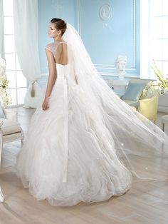 Vestido de novia, modelo Hanisi de St. Patrick 2014  www.sanpatrickgranada.es