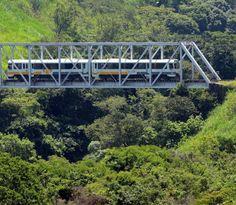 Tren de Heredia a San José, Costa Rica!!