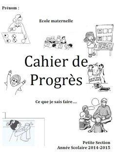 Cahier de progrès- Petite Section