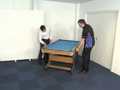 BCE 6ft Pool Table with Rolling Folding leg system - FP Model tables