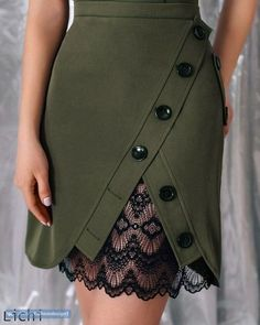 Skirt design outfit Ideas for 2019 Fashion Pants, Fashion Dresses, Fashion Shoes, Fashion Clothes, Color Fashion, Dresses Dresses, Blue Fashion, Style Fashion, Diy Kleidung