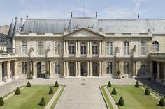 El Hotel de Soubise, museo de historia de Francia. , 60 Rues des Francs- Bourgeois,