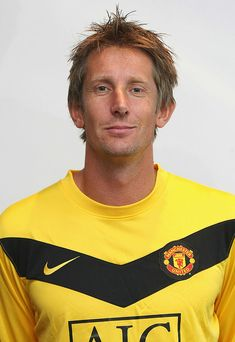 MUNICH, GERMANY - JULY A portrait of Edwin van der Sar of Manchester United taken in the team hotel on July 2009 in Munich, Germany. (Photo by John Peters/Manchester United via Getty Images) Manchester United Legends, Manchester United Players, Man Utd Squad, Famous Legends, John Peter, Legends Football, Wayne Rooney, Man United, Goalkeeper