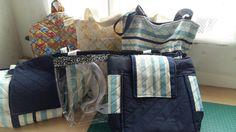 Bolsas feitas por mim