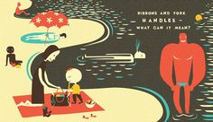 Outstanding in the Rain: A Die-Cut Adventure in Words and Meaning | Brain Pickings