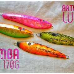 Slow Jigs MAMBA 140/170g by ArteMare Lures http://shop.artemarelures.com