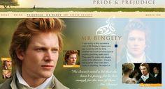 Mr. Charles Bingley description - Pride & Prejudice (2005) #janeausten #joewright #fanart