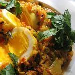 Mushroom Egg Masala | Lisa's Kitchen