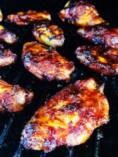 Tacos and Tequila Chicken Wings - Cooks Well With - Cocteles Bebidas Baked Bbq Chicken Wings, Chicken Kabobs, Chicken Wing Recipes, Tequila Lime Chicken, Tacos And Tequila, Smoking Recipes, Winner Winner Chicken Dinner, Cooking On The Grill, Yum Yum Chicken