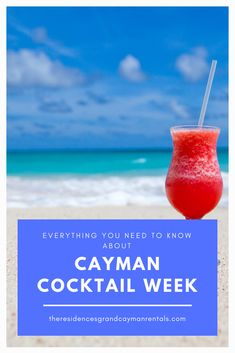 Everything You Need to Know About Cayman Cocktail Week - The Residences Grand Cayman Rentals Beach Cabana, Pop Up Bar, Beautiful Places To Travel, Grand Cayman, Cocktails, Drinks, Fun Events, Need To Know, Shake