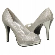 GRACEE Silver FamousFootwear. got these same EXACT shoes at Gordams for $36  Loveee them Homecoming shoesss