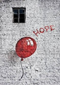Art Print: Hope : 28x20in #streetart