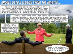 springer's blog: Angela Merkel Gets A Lesson From The Master...