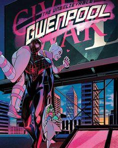 Spiderman Miles Morales & Gwen Pool