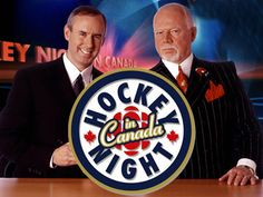 Hockey Night in Canada ~ Ron MacLean and Don Cherry Hockey Quotes, Hockey Logos, Bruins Hockey, Hockey Mom, Hockey Players, Hockey Stuff, I Am Canadian, Canadian Girls, Religion In Canada