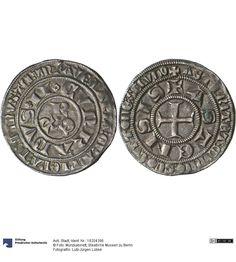 Asti: Stadt Münze 1275-1336 Land: Italien (Land) Region: Piemont (Region) Münzstätte/Ausgabeort: Asti Nominal: Grosso, Material: Silber, Druckverfahren: geprägt Gewicht: 4 g Durchmesser: 26 mm