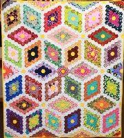 Block of the Month - Hexy Diamonds