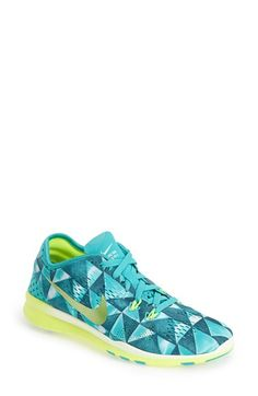 Nike 'Free 5.0 TR Fit 5 Print' Training Shoe (Women) | Nordstrom