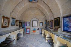 Google Image Result for http://www.cappadociaexplorer.com/images/b/201007085926_5.jpg  Naile Bozkurt's gallery, Uchisar  Naile Sanat Evi (gallery)--one of many in Turkey