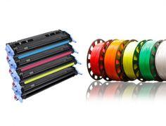 Consumibles. Garantizamos la mejor calidad en consumibles originales. Toner para impresoras y filamento para impresión en 3D.