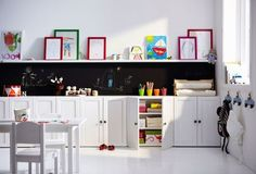 Using Ikea furniture for a kid's space
