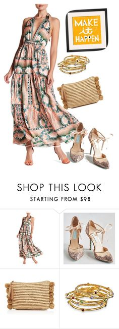 """dress"" by masayuki4499 ❤ liked on Polyvore featuring Nicole Miller and Loeffler Randall"