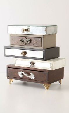 Mixed jewelry box #DIY #idea
