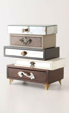 Mixed jewelry box #DIY #idea