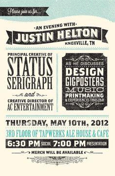 Combinación tipográfica + estilo gráfico