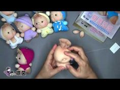 Do not throw away panty, but upcycle it into a doll (baby)     Even without understanding the languge, it is a very good how-to video :-)