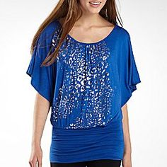 Blue banded Bottom shirt