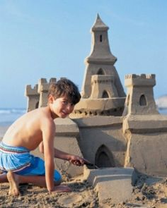 Construir un castillo de arena Remarkable