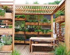 Ecocube - would love to do something like this for the back porch.