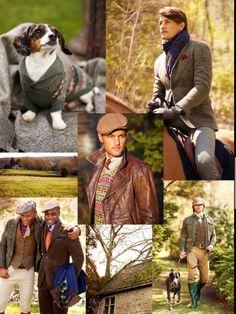 Life, more stylish.  Polo - Ralph Lauren. Fall 2012.