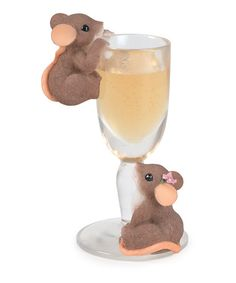 Take a look at this Celebrating Another Year Mouse Figurine by Charming Tails on #zulily today!