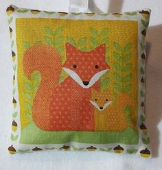 Fox Gift / Fox Fabric Lavender Bag / Easter Gift / Mother's Day Gift - Handmade
