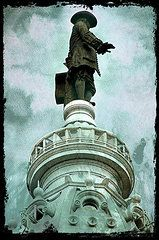 Featured Art - City Hall Billy  by Alice Gipson