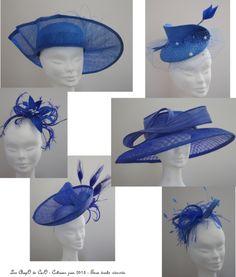 La mode - Les ChapO de CarO    BY CAROLINE COUTAN  #millinery #hats #HatAcademy