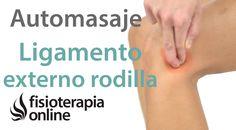 Esguince  del ligamento lateral externo de la rodilla. Masaje para su tr...
