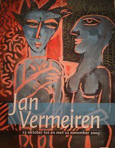 ARTIST Jan Vermeiren exhibition with works on paper