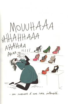 margaux-motin-chaussures Bff Drawings, Fashion Wall Art, Sarcasm Humor, Illustration Girl, Girls Life, Illustrations, Funny Cute, Cute Wallpapers, Comic Strips