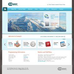 SunWest church website
