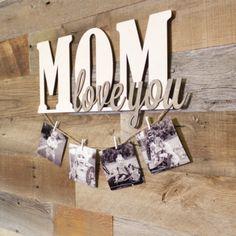 Láser de corte de MDF de madera-a nuestra hija feliz 21st Cumpleaños Amor Mamá /& DAD