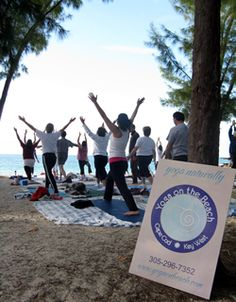 Find your center at Fort Zachary Taylor with Yoga on the Beach!