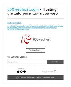 000webhost.com - Hosting gratuito para tus sitios web