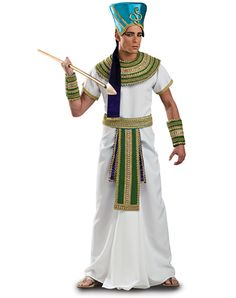 Born Of The Sun God, Ra - Egyptian Pharaoh Ramses Theatrical Quality Adult Men's Costume - Halloween / Cosplay