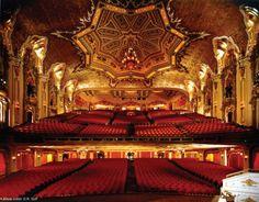 The THEATRE...The Ohio Theatre (interior)